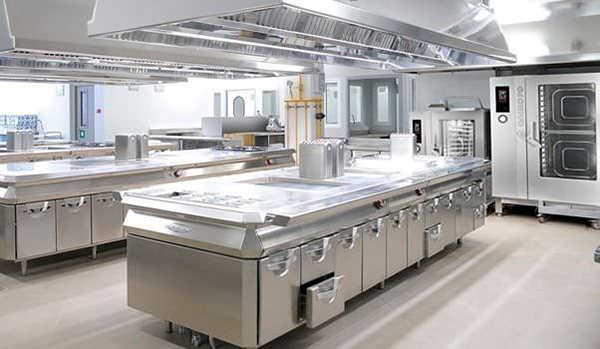 Am nager une cuisine professionnelle for Amenagement cuisine industrielle