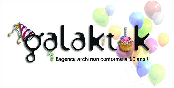 Logo des 10 ans de Galaktik